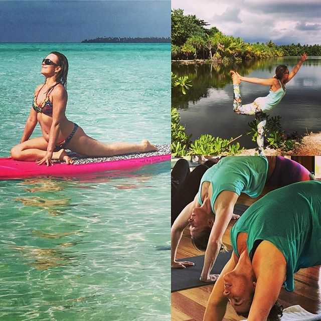 Flashback to the Yoga Journey to TAHITI as I'm giving thanks to 2016 and setting intentions for 2017. Conscious endings create our new beginnings... to truly experience the NEW and not simply redo what I've  come to know, I choose to be in foreign cultures and open to all that life has to offer with ️. #yogajourneyswithulrika #yogajourney #happynewyear #happynewyear2017 #yogainspiration #yogaretreat #yogaoutside #yogachallenge #yogaeveryday #yogalifestyle #yogalife #yogalover #yogaretreat #yogaeverywhere #yogafun #yogapractice