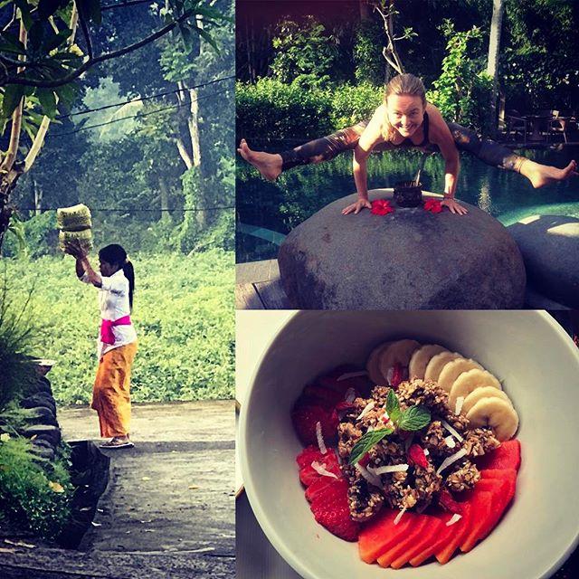 Back home from BALI, fueled by nutritious and delicious foods, daily yoga, movement, spa treatments and meditation practice. Smiling as wide as Titibasana, firefly pose!#yogajourneyswithulrika #yogalove #travel #joy #bali #yogaretreat #yogalover #yogalife #yogalifestyle #yogini #yogainspiration #yogadaily #yogaeverywhere #yogafun #yogaeveryday #yogapractice #titibasana
