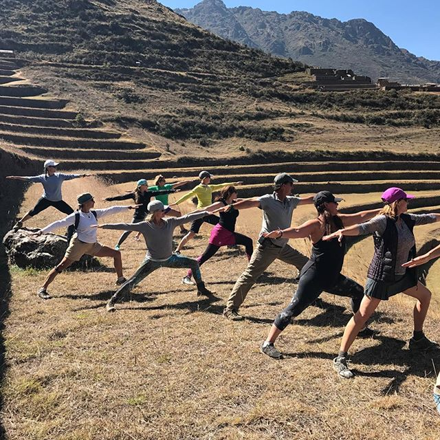 Warrior practice on the Yoga Journey to PERU. Feeling the Inca power!..#yogajourneyswithulrika #yogatravel #yogaperu #yogajourney #yogalife #yogalifestyle #yogafun #yogaeverydamnday #yogaeverywhere #yogainspiration #yogalover #yogaretreat