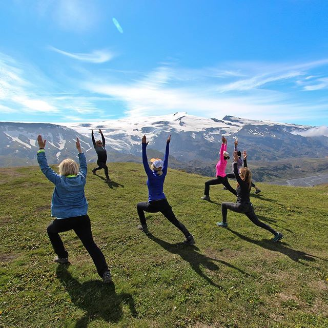 Great times with @icelandactivities on one of the epic Yoga Journeys to ICELAND. Join me on the next Icelandic Yoga adventure where we will explore the west and south with a glacier Jeep safari, hiking, snow shoeing and soaking in hot springs while chasing the NORTHERN LIGHTS across the sky. Daily dose of Yoga always!#yogajourneyswithulrika #iceland #yogajourney #yogatravel #travel #journey #yogaeverywhere #yogainspiration #yogalife #yogafam #instayoga #yogalifestyle #yogaoutdoors #yogaeveryday #yogafun #yogalove #yogalover #yogaforlife #yogatime #adventure #northernlights #travelblogger