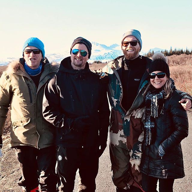Me and my Icelandic brothers aka guides leading the YOGA JOURNEY in ICELAND with me every year. Look like we are in good hands with these guys? Wouldn't do Iceland without them. They know the secret paths off the beaten track of Iceland on the back of their hands. Felt like we had Iceland all to ourselves, no tourists, just breathtaking beauty and adventure! I'll be back leading two more Yoga Journeys next year  Wanna come along for the ride??....#yogajourneyswithulrika #iceland #yogajourney #yogaretreat #yogateacher #yogatime #yogatravel #travel #travelblogger #yogisofinstagram #instayoga #yogalife #yogalifestyle #yogafit #fit #yogalove #yogalover #yogafam #yogachallenge #yogaeverywhere #yogaeveryday #yogafun #yogainspiration #yogadaily #yogaeverydamnday #yogaforlife #adventure #yogagram #yoga