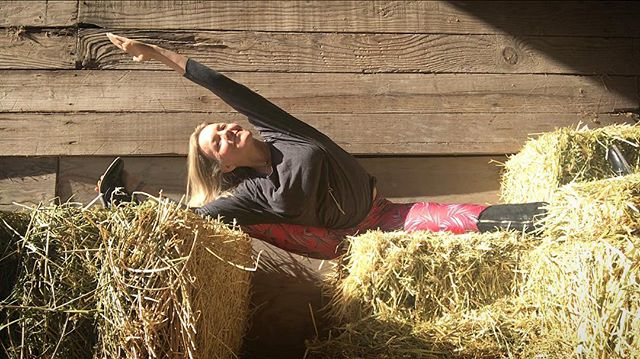 More barn yoga. Yes, it's fun to play in the hay:) and with horses and yoga poses.....#yogajourneyswithulrika #hay #playtime #yogatime #yogalife #yogini #yogatravel #yogateacher #yogainspiration #yogafun #yogalifestyle #yogaeverywhere #yogaeveryday #yogaforlife #yogisofinstagram #instayoga #yogamom #horselover #yogalover #yogainstructor #yogapose #yogapractice #yogadaily #yogajourney #yogaretreat #yogacommunity #yogapants #barn