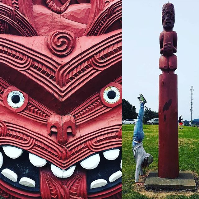 MAORI inspired yoga practice today at the Ohope Bay of Plenty look out in NEW ZEALAND. Look out I'd say,  and not just at the breathtaking view, look out for Maori inspired yogis ?..#yogajourneyswithulrika #yoganewzealand #yogaretreat #yogalife #yogainspiration #yogaeverywhere #yogaoutdoor #yogalifestyle #yogini #yogadaily #yogaeveryday #yogalover #yogafun #yogaeverydamnday #yogateacher